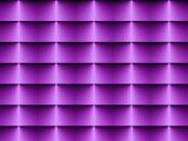 Op Art Horizontal Blinds Soft Violet One poster