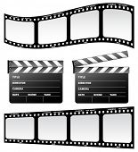 Film and clapboard