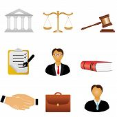 Justice And Law Icons