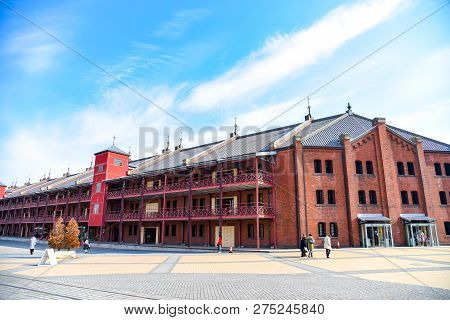 Yokohama Red Brick Warehouse In