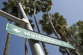 Mulholland Drive Street Sign