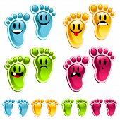 Happy Smiling Feet