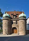 Gate, Nuremberg, Germany