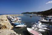 harbor of Agios Stefanos, Corfu