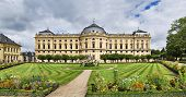 Residenz Palace In Wurzburg, Germany