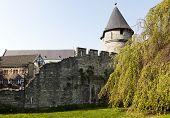 old city wall at Maastricht