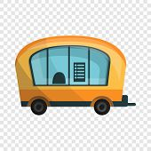 City Info Truck Icon. Cartoon Of City Info Truck Vector Icon For Web Design For Web Design poster