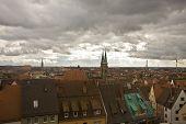 Nuremberg View From Kaiserburg