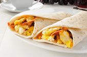 Bacon And Egg Burritos