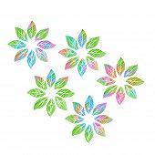 holiday leaf pattern