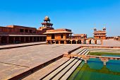 Old City Of Fatehpur Sikri, India.
