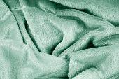 Blue Knitted Fabric Background Fluffy, Handmade, Knitting, Knit, Skill, Craft, Crafts, Yarn poster
