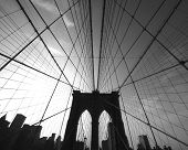 picture of brooklyn bridge  - brooklyn bridge superwide - JPG