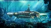 Fantastic submarine