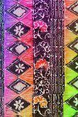 Colorful Batik With Floral Motif