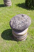 Stone And Millstone In Farm