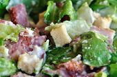 Caesar Salad Lettuce And Bacon