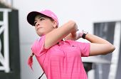 Paula Creamer at Evian Masters, July 22, 2012