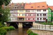 Merchants' Bridge. Erfurt