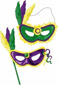 Mardi Gras Masken