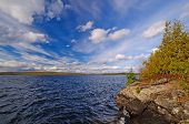 Spectacular Skies On Wilderness Lake
