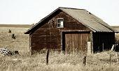Rundown Country Barn