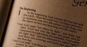 Holy Bible Genesis 1:1