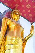 Standing Buddha.