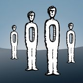 picture of orifice  - an illustration of background figures surreal empty - JPG