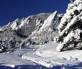 Flatirons First Snow