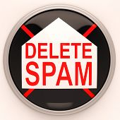 Delete Spam Shows Removing Unwanted Junk Email