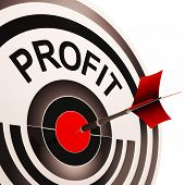 Profit Shows Market And Trade Earning