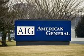 Sign In Front Of The Aig Neptune Nj Facility
