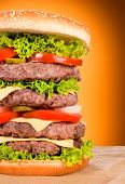 Burger halbe