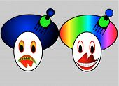 Abstract Clowns