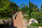 Marimurtra Garden In Blanes, Costa Brava, Spain
