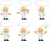 Scientist Or Professor Customizable Mascot 15