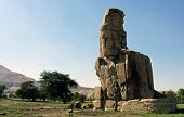 colossus of memnon, luxor egypt june 2013