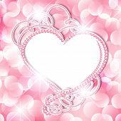 Pearl Heart Frame