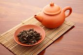 Chinese tea and teapot