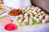 Party Snacks And Homemade Cupcakes