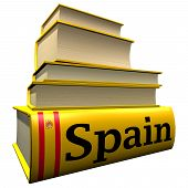 Guidebooks and dictionaries of Spain