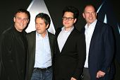 Bryan Burk, Brett Grey, J.J. Abrams and Rob Moore at the