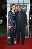 Cheech Marin and wife Natasha Rubin at the