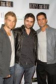 Mike Vogel, Alex Merkin and Danny Pino at the