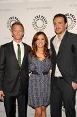 Neil Patrick Harris, Alyson Hannigan and Jason Segel at the Paley Center's 'How I Met Your Mother' 100th Episode Celebration, Paley Center for Media, Beverly Hills, CA. 01-07-10