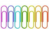 Colored Paperclips Collection