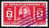 Postage Stamp Honduras 1935 President Carias