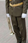 Постер, плакат: Musician Of Army Band