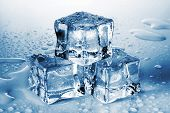 Pyramid Of The Melted Ice Cubes